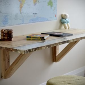 kids floating writing desk